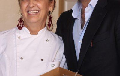 Michele Sarogni - Sindaco di Casapulla E Anna Chiavazzo - Il Giardino di Ginevra